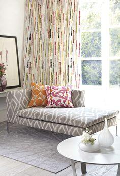 Coleccion Orvieto de @Romo_fabrics en @tiendademarques #interiordesign #fabrics #decoracion