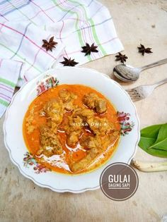 Indonesian Cuisine, Asian Recipes, Ethnic Recipes, Laksa, Asian Cooking, Thai Red Curry, Food And Drink, Cooking Recipes, Menu