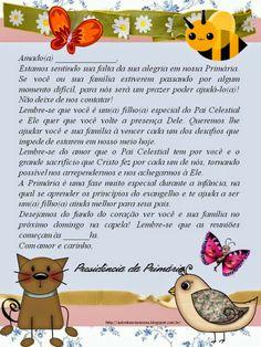 As Tontas Vão Ao Céu: Primária - Carta para Crianças Inativas ou Menos A...