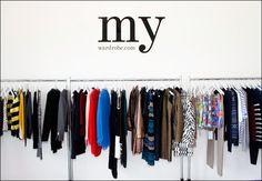 my dream - an organised wardrobe!