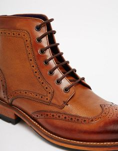 13e1445d9ab Ted Baker Sealls Brogue Boots