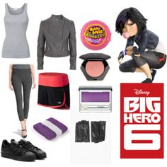 Big Hero 6 Gogo Tomago outfit