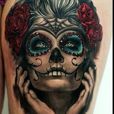day of the dead tattoos 43