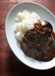 Japanese Curry. So popular and so good. I make at home often.