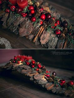 Adventsgesteck in Rot. Adventsgesteck in Rot. The post Adventsgesteck in Rot. appeared first on Rustikal ideen. Farmhouse Christmas Decor, Rustic Christmas, Simple Christmas, Christmas Time, Christmas Wreaths, Merry Christmas, Christmas Ornaments, Holiday Decor, Woodland Christmas