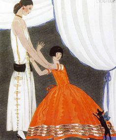 Fashion Illustration by Paul Iribe