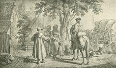 Chodowiecki, In der Kassubei (Danziger Skizzen, 1773).
