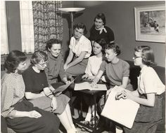 1950's college dorm