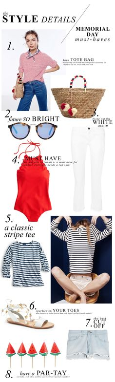 Red, White and Blue // A Dash of Details