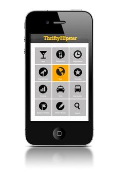 Thrifty Hipster Mobile Application by Jon Robson, via Behance    ----BTW, Please Visit:  http://artcaffeine.imobileappsys.com