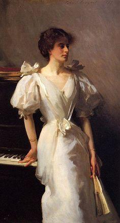 John Singer Sargent: Catherine Vlasto 1897