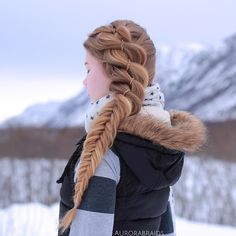 "7,418 Likes, 74 Comments - Mia & Linda (@aurorabraids) on Instagram: ""4 strand into a fishtail❣"""
