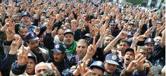 Kabylie Les Gardes Communaux Manifestent Contre Le Quatrième Mandat De Bouteflika R.Moussaoui pour Tamurt.info        Des centaines d'an...