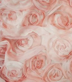 David Tutera Fabric- Chiffon Ombre Ribbon RoseDavid Tutera Fabric- Chiffon Ombre Ribbon Rose,  - To make lampshade with?