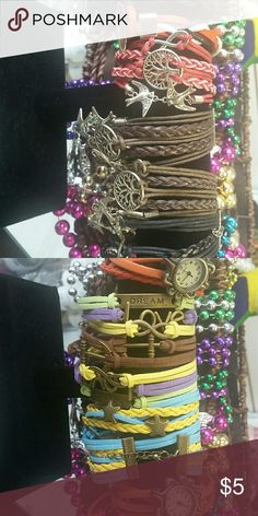 Bracelet Men's and ladies when buying let me know which one you would like Jewelry Bracelets
