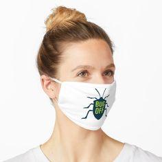 Funny entomology face mask says Bug Off. Great gift idea for the entomologist. Biology Humor, Chemistry Jokes, Grammar Humor, Science Jokes, Bug Off, Song Words, Montessori Elementary, Teacher Memes, Molecular Biology