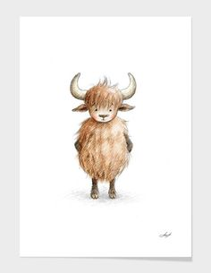 Discover «Yak», Numbered Edition Fine Art Print by Anna Abramska - From $20 - Curioos