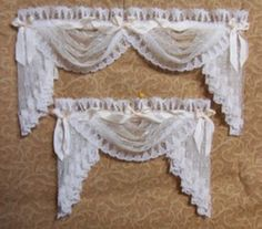 DOLLHOUSE DRAPES & CURTAINS