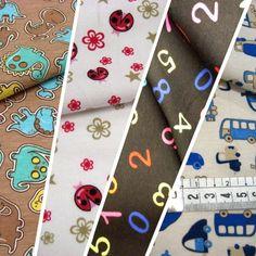 Punt de samarreta estampat // Punto de camiseta estampado // Cotton knitted patterned #tela #teixit #tejido #fabric #infantil #children #punt #punto #knitted #cotton #cotó #algodón #teixitsbaig