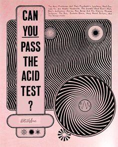 Wes Wilson - Acid Test,via the swinging sixties