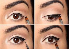 awesome Как рисовать стрелки на глазах? (50 фото) — Пошаговые инструкции Читай больше http://avrorra.com/kak-risovat-strelki-na-glazax-foto-poshagovo/