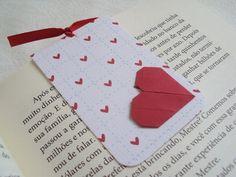 marcador de livro magnético || corações - Sakura Origami & Acessórios