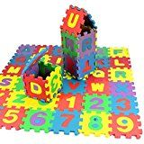 #10: FAPIZI ☀ Toy ☀ 36Pcs Baby Child Number Alphabet Puzzle Foam Maths Educational Toy Gift - stereos (http://amzn.to/2bJuIg3) video (http://amzn.to/2bK3YaB) speakers (http://amzn.to/2bZfMGS) accessories (http://amzn.to/2brKMAO) radar detectors (http://amzn.to/2bZfobC) GPS navigation (http://amzn.to/2bZeuMn)
