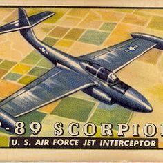 F-89 Scorpion  -  Jeff Sexton - Google+