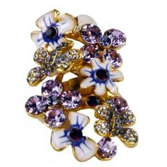 Beautiful Flower Ring - $33 #women #fashion #jewelry