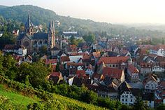 Cathedral and old town, Heppenheim