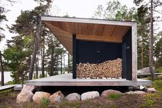 JOARC I ARCHITECTS • Holiday Villas • sauna building, mökki, summerhouse, timber, finnish architecture