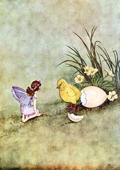 The Little Green Road to Fairy Land IIII Ida Rentoul Outhwaite 1922