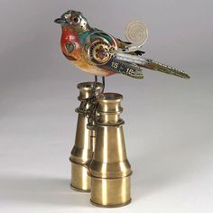 Songbirds: Beautiful Steampunk Sculptures