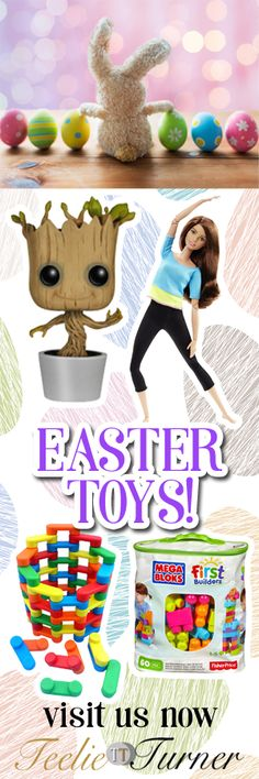 Easter Eggciting Fun Toys for Easter. Love it: www.theteelieblog.com Here are the latest Easter toys that will surely make all kids eggcited! These can be prizes for the Easter egg hunt or other outdoor activities at your Easter Day celebration. They are also great as Easter basket stuffers! #EasterToys