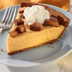 Peanut Butter Mousse Pie from Land O'Lakes