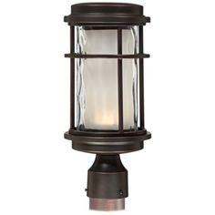 "Park View Bronze 13"" High LED Outdoor Post Light | Lamps Plus"