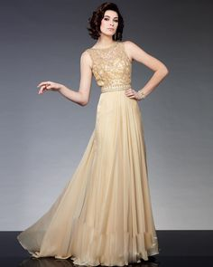 5e99e5764b4 ... Dresses 2016 Champagne Chiffon Beaded Formal Evening Gown Party Brides  Mother Dress for Wedding-in Mother of the Bride Dresses from Weddings    Events on ...