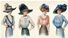 Século XX: Alta-Costura na Belle Époque - Pesquisa Google