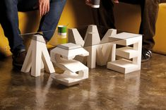 4D by Lo Siento, via Behance