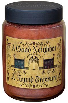 A Good Neighbor ~ A Found Treasure Jar Candle - KP Creek Gifts