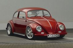 '66 Chop top Beetle  Ok maybe it's not a Muscle Car, but it is cute!