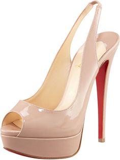 peep toe platform slingback on Pinterest | Slingbacks, Peep Toe ...