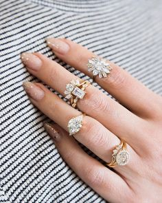 Crazy gorgeous engagement rings and bridal stacks from Marrow Fine Jewelry Box, Jewelry Accessories, Fine Jewelry, Jewellery, Jewelry Trends, The Bling Ring, Diamond Are A Girls Best Friend, Beautiful Rings, Wedding Rings