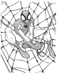 omalovánky spiderman - Google Search