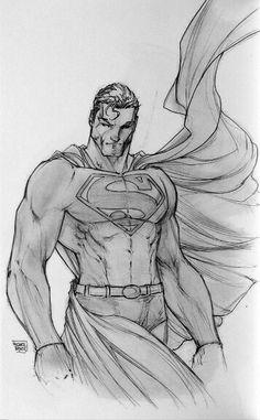 Superman by Michael Turner