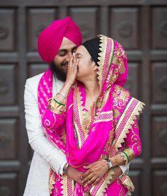 "Photo from Harnav Bir Singh Photography ""Portfolio"" album Pre Wedding Poses, Sikh Wedding, Indian Wedding Outfits, Punjabi Wedding, Indian Outfits, Clothing Photography, Bridal Photography, Couple Photography, Photography Poses"
