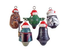 Items similar to Star wars Fan Art Christmas Ornaments on Etsy
