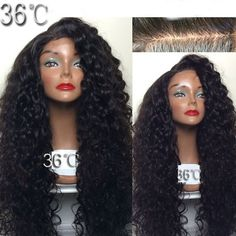 141.95$  Buy now - http://aliun8.worldwells.pw/go.php?t=32472278352 - 36 Factory  200 Density 100% Human hair Full lace wigs virgin Brazilian hair curly Full lace wig Glueless with baby hair 141.95$
