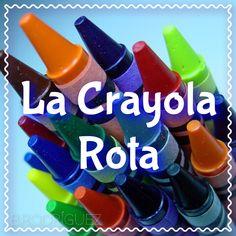 """Aquí estamos: """"La Crayola Rota"""" http://www.connectwithyourmisma.com/la-crayola-rota/ #takerisks #enjoythejourney #love #connectwithyourmisma"""