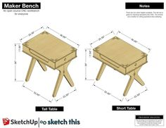 Official SketchUp Blog: Ready, set... Maker Bench #MAKE #DIY #STEM #MakerSpace #Makers #EdTech